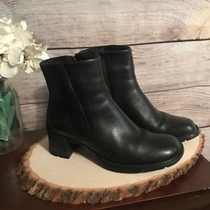 Timberland Size 7 Smart System Black Leather Boots